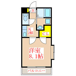 GRAND CIMA ZERO[5階]の間取り