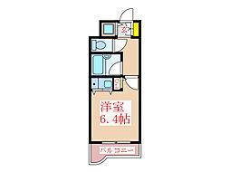 トーカンキャステール加治屋町 707号室[7階]の間取り