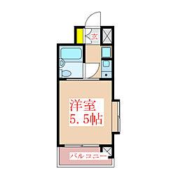 朝日プラザ上之園 1003号室[10階]の間取り