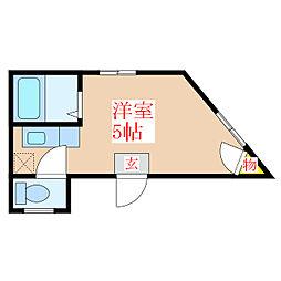 甲突ビル [2階]の間取り