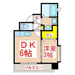 Precious K[4階]の間取り