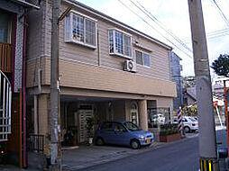 鹿児島県鹿児島市鴨池1丁目の賃貸アパートの外観