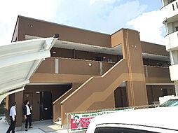 鹿児島県鹿児島市唐湊4丁目の賃貸アパートの外観