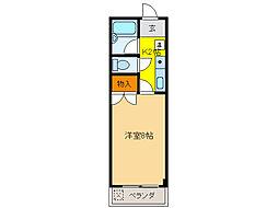 Y2ビル[3階]の間取り