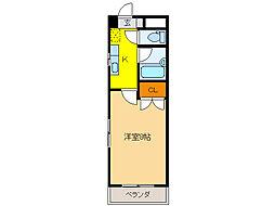 プレステージ35[2階]の間取り