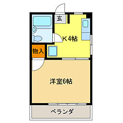 細畑駅 2.0万円