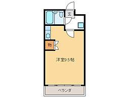 シティコーポ田口[2階]の間取り