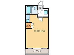 シティコーポ田口[3階]の間取り