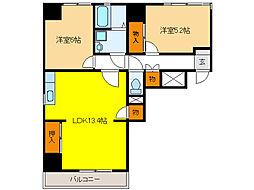 FULL HOUSE 235[2A号室]の間取り