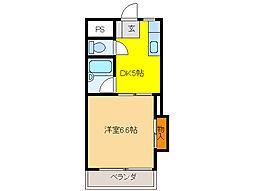 新葵ビル(加納)[502号室]の間取り