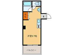かむろビル 東館[4階]の間取り