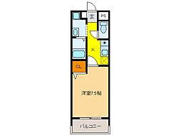 PRESIDENT21[5階]の間取り