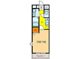 PRESIDENT21[2階]の間取り