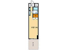 サンライン岐阜コーポ[1階]の間取り
