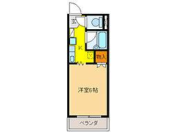 サープラスIハヤシ[2階]の間取り