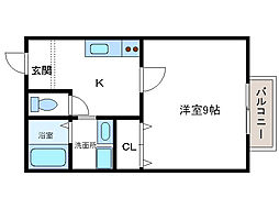 エルドーレ[2階]の間取り
