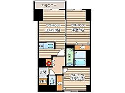 北海道北見市北三条西5丁目の賃貸マンションの間取り