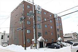 北海道北見市常盤町3丁目の賃貸マンションの外観
