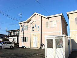 北海道北見市清月町の賃貸アパートの外観