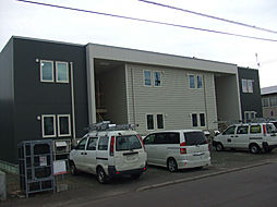 北海道北見市美芳町7丁目の賃貸アパートの外観