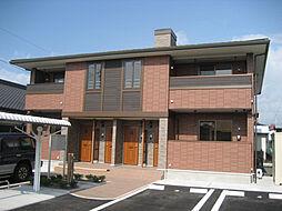 鹿児島県霧島市隼人町住吉の賃貸アパートの外観