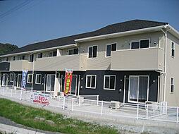 鹿児島県霧島市国分府中の賃貸アパートの外観