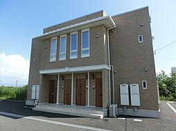 鹿児島県霧島市隼人町小田の賃貸アパートの外観