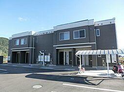 鹿児島県霧島市国分下井の賃貸アパートの外観