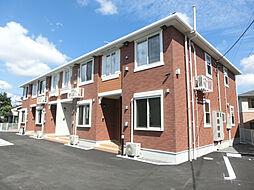 鹿児島県霧島市国分新町2丁目の賃貸アパートの外観