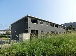 鹿児島県霧島市国分姫城南の賃貸アパートの外観