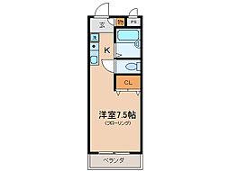 プリマベーラ瀬田[3階]の間取り
