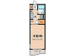 コーストハイツ友湖[1階]の間取り