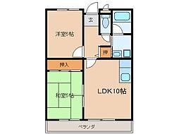 NIIIマンション[1階]の間取り