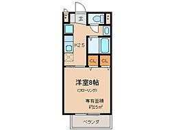 サープラス池田II[1階]の間取り