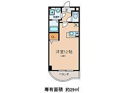 サニーサイドテラスK[6階]の間取り