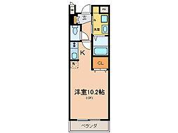 フィールドロードII[3階]の間取り