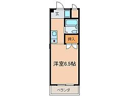 シャルム・ヤマモト[3階]の間取り