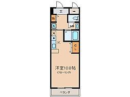 ジュネス藤[4階]の間取り