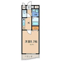 MNK−5[3階]の間取り