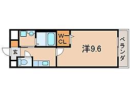 ラディエマルタ[1階]の間取り