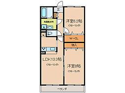 MizobataOda[1階]の間取り