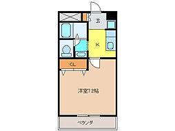 パラシオン元町[2階]の間取り