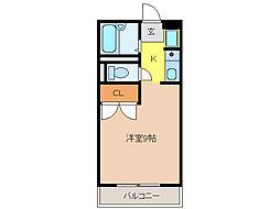サンライズ186[2階]の間取り