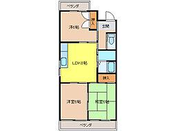 サンシャインI[5階]の間取り