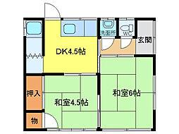 [一戸建] 愛知県江南市宮後町砂場西 の賃貸【/】の間取り