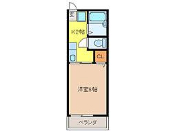 エトワール (一宮市浅井町)[2階]の間取り