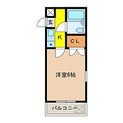 ATS千代田橋ハイツ[201号室]の間取り