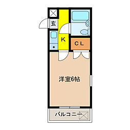 ATS千代田橋ハイツ[301号室]の間取り
