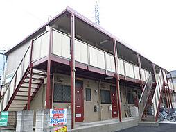 東京都葛飾区亀有1丁目の賃貸アパートの外観