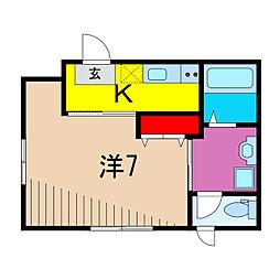 亀有5丁目計画(仮) 1階1Kの間取り